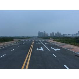 池州江南集中区道路标线